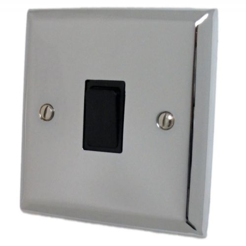 G&H SC5B Spectrum Plate Polished Chrome 1 Gang Intermediate Rocker Light Switch